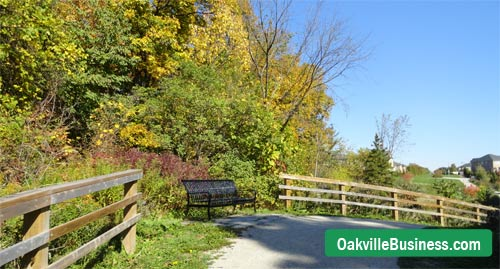 Oakville trails for kids, bikers and hikers